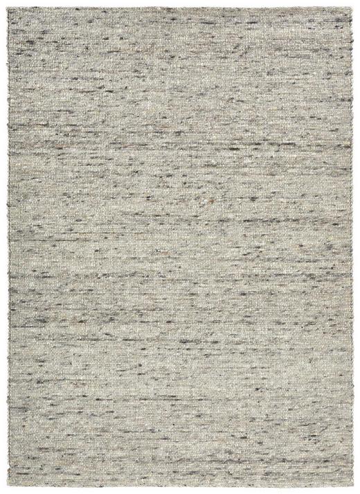 HANDWEBTEPPICH - Schwarz/Grau, Natur, Weitere Naturmaterialien (170/230cm) - Linea Natura