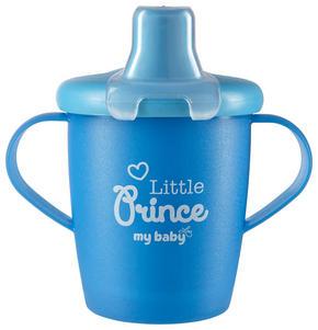 BARNMUGG - blå, Basics, plast (7cm) - My Baby Lou