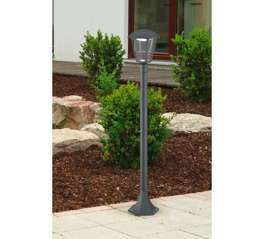 WEGELEUCHTE Anthrazit  - Anthrazit, Design, Kunststoff/Metall (17/100cm)