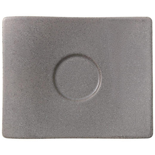 UNTERTASSE - Grau, Basics, Keramik (18/15cm) - Villeroy & Boch