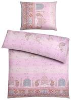 POSTELJNINA CORREGGIO - roza, Konvencionalno, tekstil (140/200cm) - Bassetti