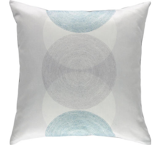 ZIERKISSEN 50/50 cm - Hellblau, Design, Textil (50/50cm) - Novel