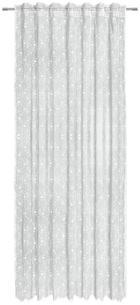 KUSOVÁ ZÁCLONA - bílá, Lifestyle, textil (140/245cm) - LANDSCAPE