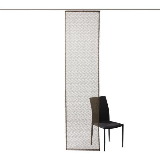 FLÄCHENVORHANG   halbtransparent   60/245 cm - Beige, Basics, Textil (60/245cm) - Novel