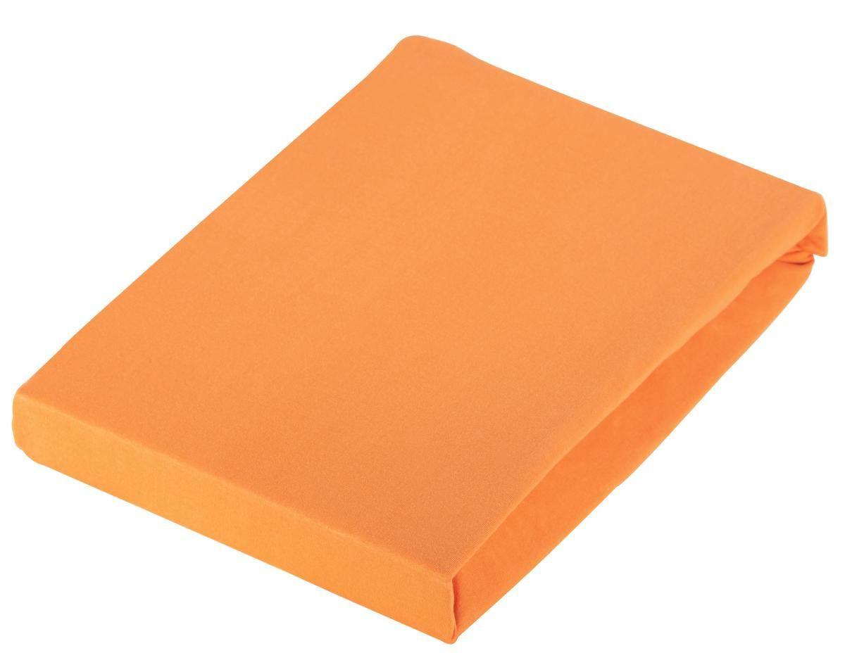 PLAHTA S GUMICOM - narančasta, Konvencionalno, tekstil (180/200cm) - SCHLAFGUT