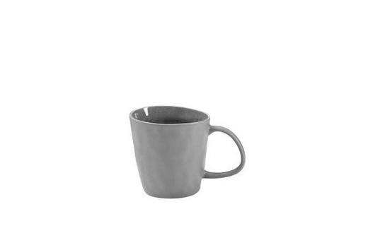 KAFFEEBECHER - Grau, Basics, Keramik (0,3l) - ASA