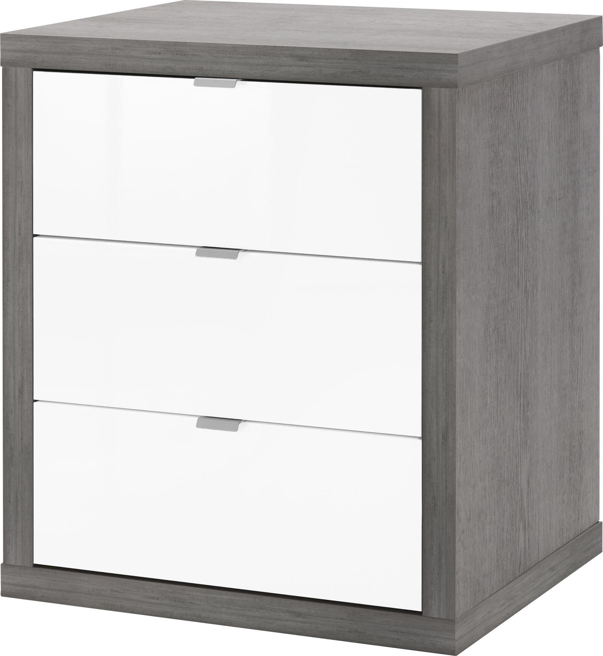 Außergewöhnlich Rollcontainer Kunststoff Sammlung Von Grau, Weiß - Weiß/grau, Design, Kunststoff/metall (55