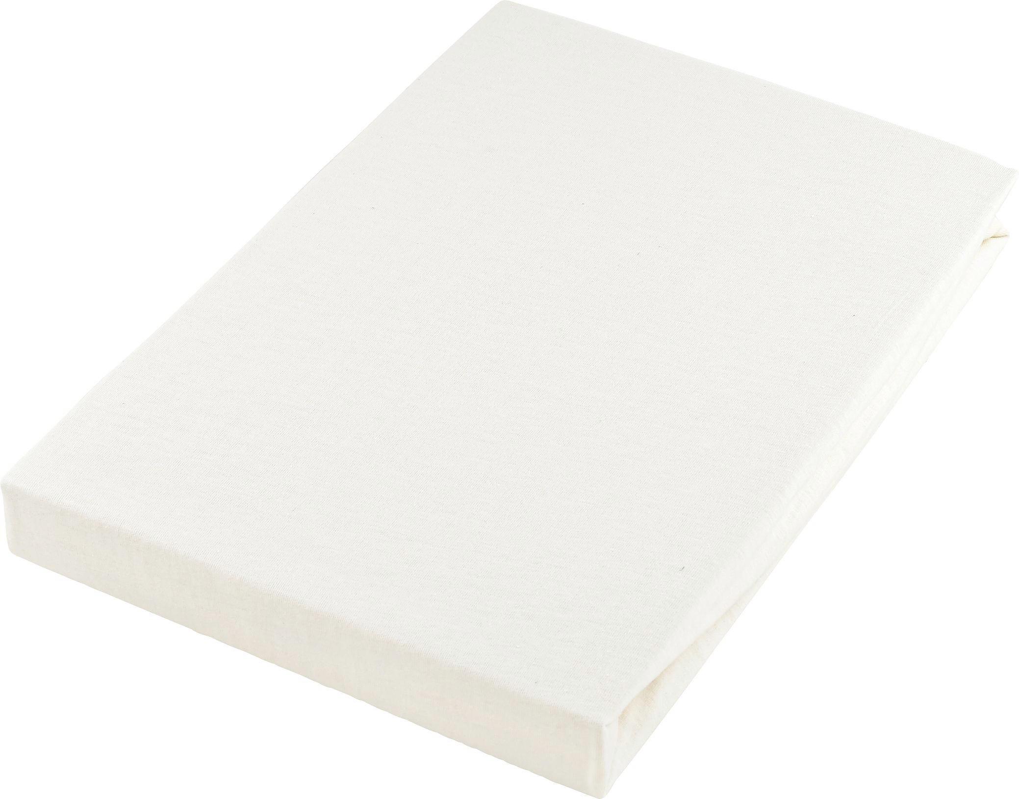 DRA-PÅ-LAKAN - creme, Basics, textil (180/200cm) - BOXXX