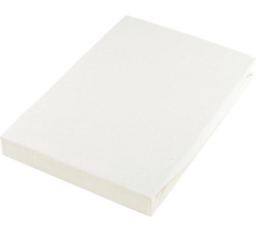 PROSTĚRADLO NAPÍNACÍ, žerzej, 100/200 cm - krémová, Basics, textil (100/200cm) - Boxxx