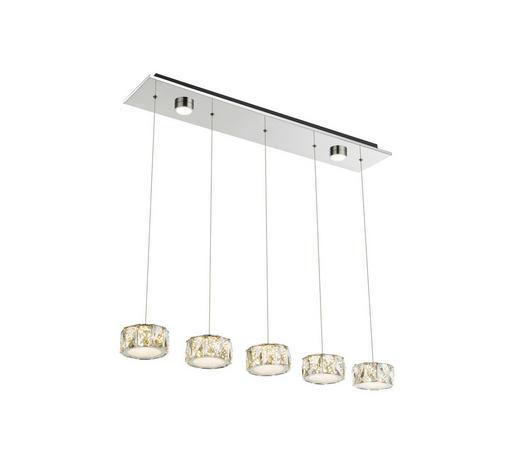 LED-HÄNGELEUCHTE - LIFESTYLE, Kunststoff/Metall (82/16/120cm)