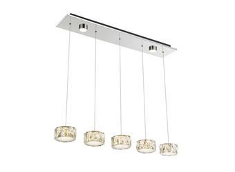LED SVJETILJKA VISEĆA - Design, metal/plastika (82/16/120cm)