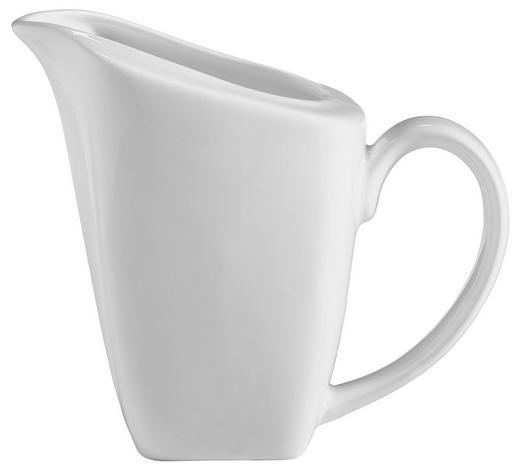 KONVIČKA NA MLÉKO, kostní porcelán (bone china) - bílá, Lifestyle, keramika (6,5-8/9,5cm) - Novel