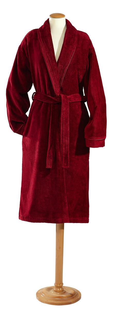 BADEMANTEL  Bordeaux - Bordeaux, KONVENTIONELL, Textil (M) - Esposa