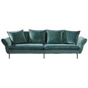 VELIKA ZOFA  zelena tekstil - črna/zelena, Design, tekstil (300/88-45/109cm) - Landscape