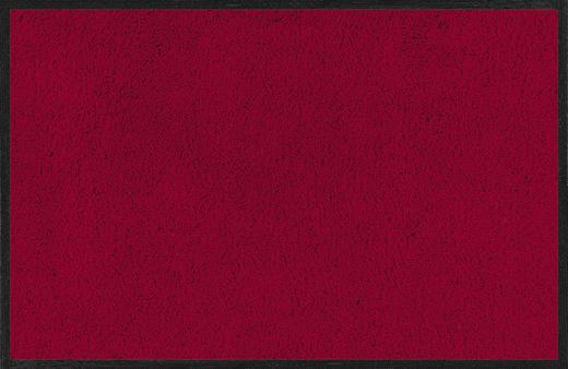 FUßMATTE 120/180 cm Uni Bordeaux - Bordeaux, Basics, Kunststoff/Textil (120/180cm) - Esposa