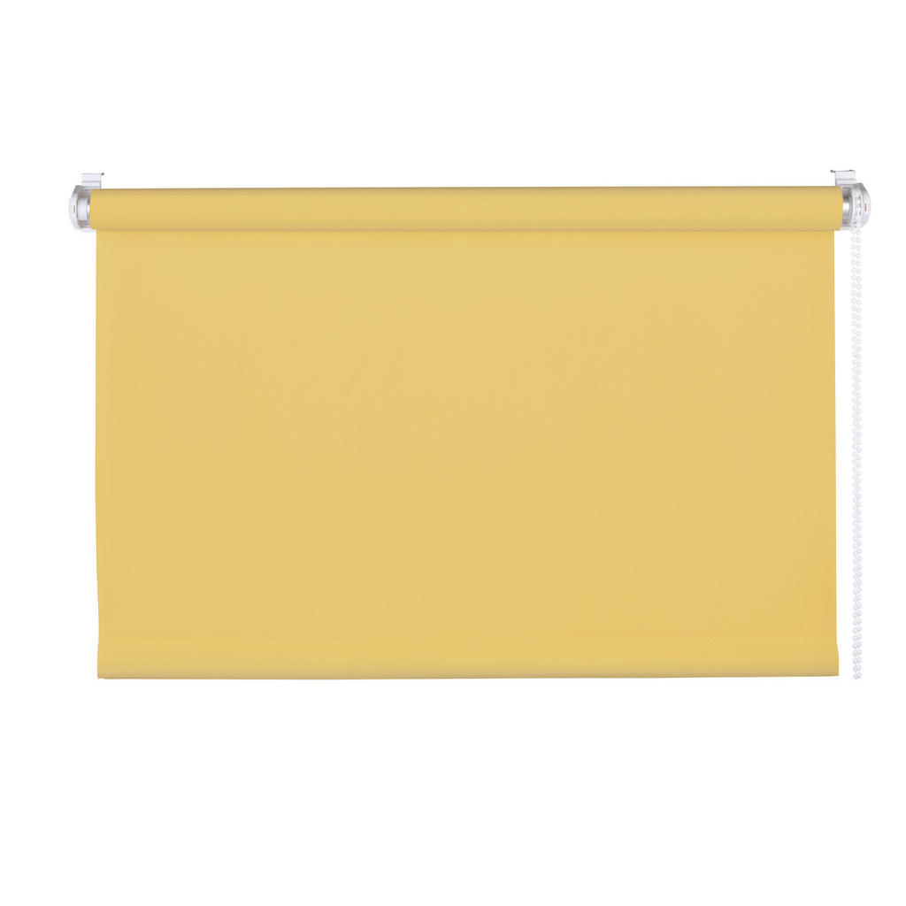 Rollo , Gold , Textil , Uni , 75 cm , Länge universell einstellbar , Heimtextilien, Gardinen, Rollos & Jalousien