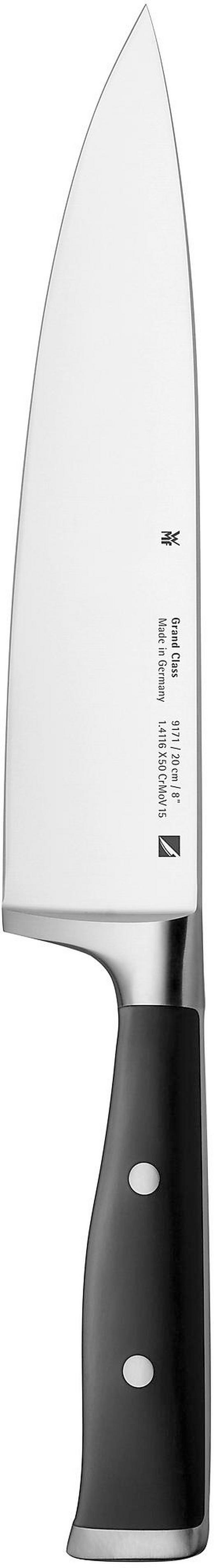KOCHMESSER  Stahl  35 cm - Edelstahlfarben/Schwarz, Basics, Kunststoff/Metall (35cm) - WMF