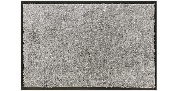 FUßMATTE 60/80 cm  - Hellgrau, KONVENTIONELL, Textil (60/80cm) - Esposa
