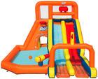 WASSERRUTSCHE 53305 - Multicolor, Basics, Kunststoff (505/340/265cm) - Bestway