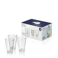 TRINKGLAS-SET 6-teilig - Klar, Basics, Glas (0,3l) - Leonardo