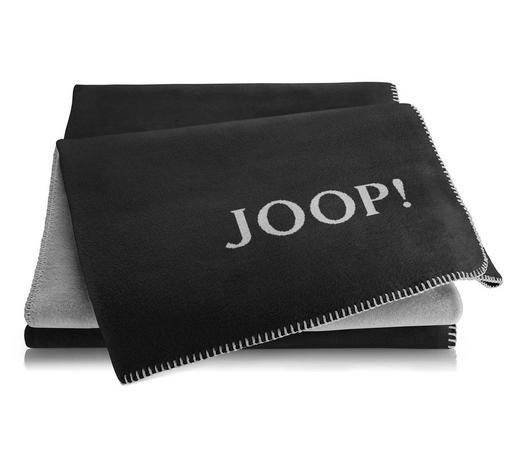 WOHNDECKE 150/200 cm Anthrazit, Grau  - Anthrazit/Grau, Basics, Textil (150/200cm) - Joop!