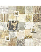 SLIKA - prirodne boje/bež, Basics, papir/drvo (80/80cm)