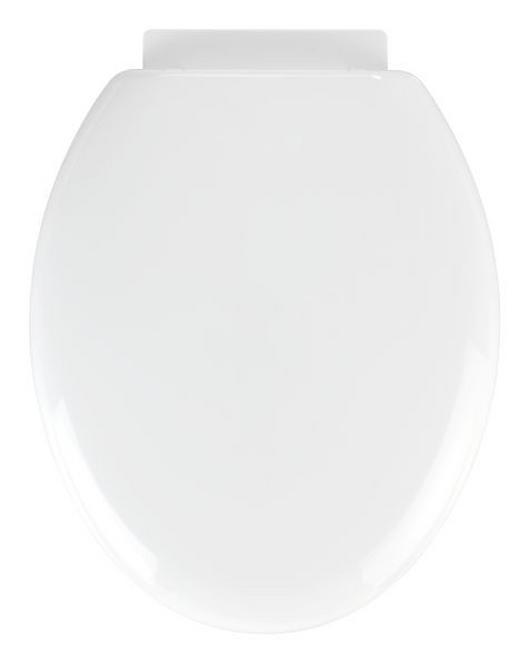 WC-SITZ Weiß - Weiß, Basics, Kunststoff (38/5,5/46cm)