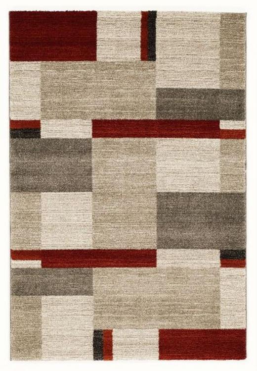 WEBTEPPICH  240/340 cm  Beige, Braun, Rot - Beige/Rot, KONVENTIONELL, Textil (240/340cm) - Novel