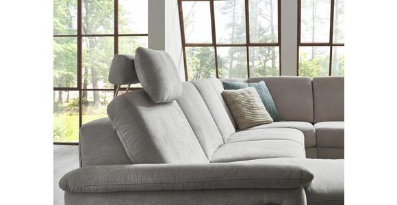 WOHNLANDSCHAFT in Textil Braun  - Alufarben/Braun, Design, Textil/Metall (170/333/265cm) - Dieter Knoll