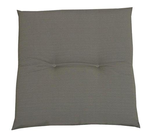 GARTENHOCKERAUFLAGE Uni  - Taupe, KONVENTIONELL, Textil (48/5/48cm)