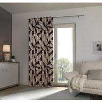 Fertigvorhang blickdicht  - Schwarz, Konventionell, Textil (140/245cm) - Esposa