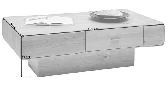 COUCHTISCH in Holz 120/70/39 cm - Eichefarben, Design, Holz (120/70/39cm) - Valnatura