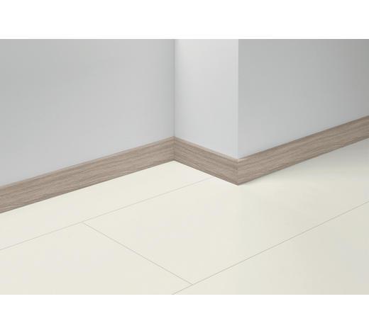 SOCKELLEISTE Grau, Eichefarben, Hellgrau - Eichefarben/Hellgrau, Basics, Holzwerkstoff (257/4/1,6cm) - Parador