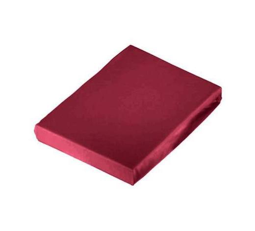 SPANNLEINTUCH 100/200 cm - Bordeaux, Basics, Textil (100/200cm) - Novel