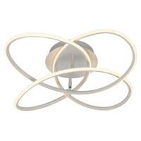 Led-deckenleuchte - Weiß, Design, Kunststoff/Metall (60cm)