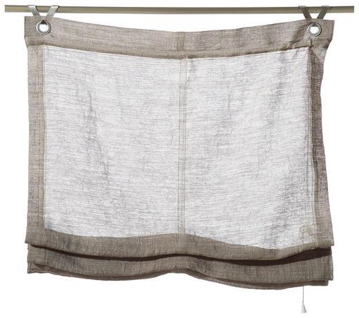 RAFFROLLO  halbtransparent  45/130 cm - Taupe, Design, Textil (45/130cm) - Esposa
