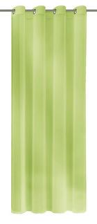 ZAVJESA S RINGOVIMA - zelena, Design, tekstil (140/245cm)