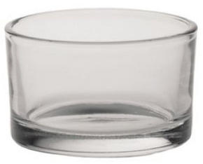 VÄRMELJUSGLAS - klar, Basics, glas (8/5cm) - Ambia Home