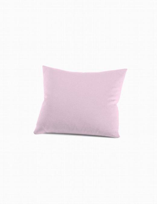 KISSENHÜLLE - Hellrosa, Basics, Textil (40/80cm) - Schlafgut