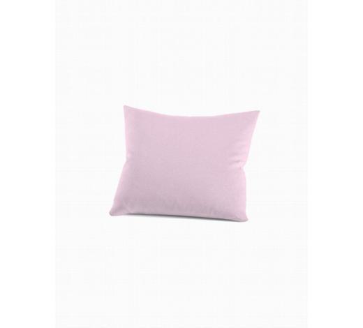 KISSENHÜLLE - Hellrosa, Basics, Textil (40/40cm) - Schlafgut