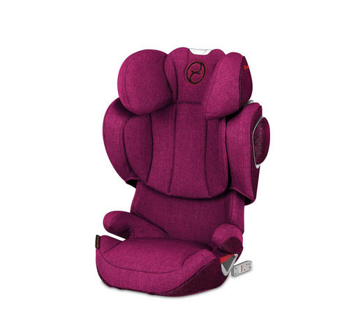 KINDERAUTOSITZ SOLUTION Z-FIX PLUS - Pink/Beige, Design, Kunststoff/Textil (53,0/62,5/40,5cm) - Cybex