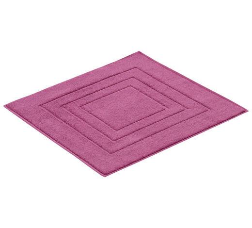 BADTEPPICH in Beere 60/60 cm - Beere, Basics, Textil (60/60cm) - Vossen
