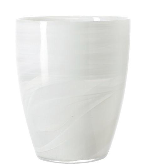 VASE - Weiß, Basics, Glas (15/19/15cm) - LEONARDO