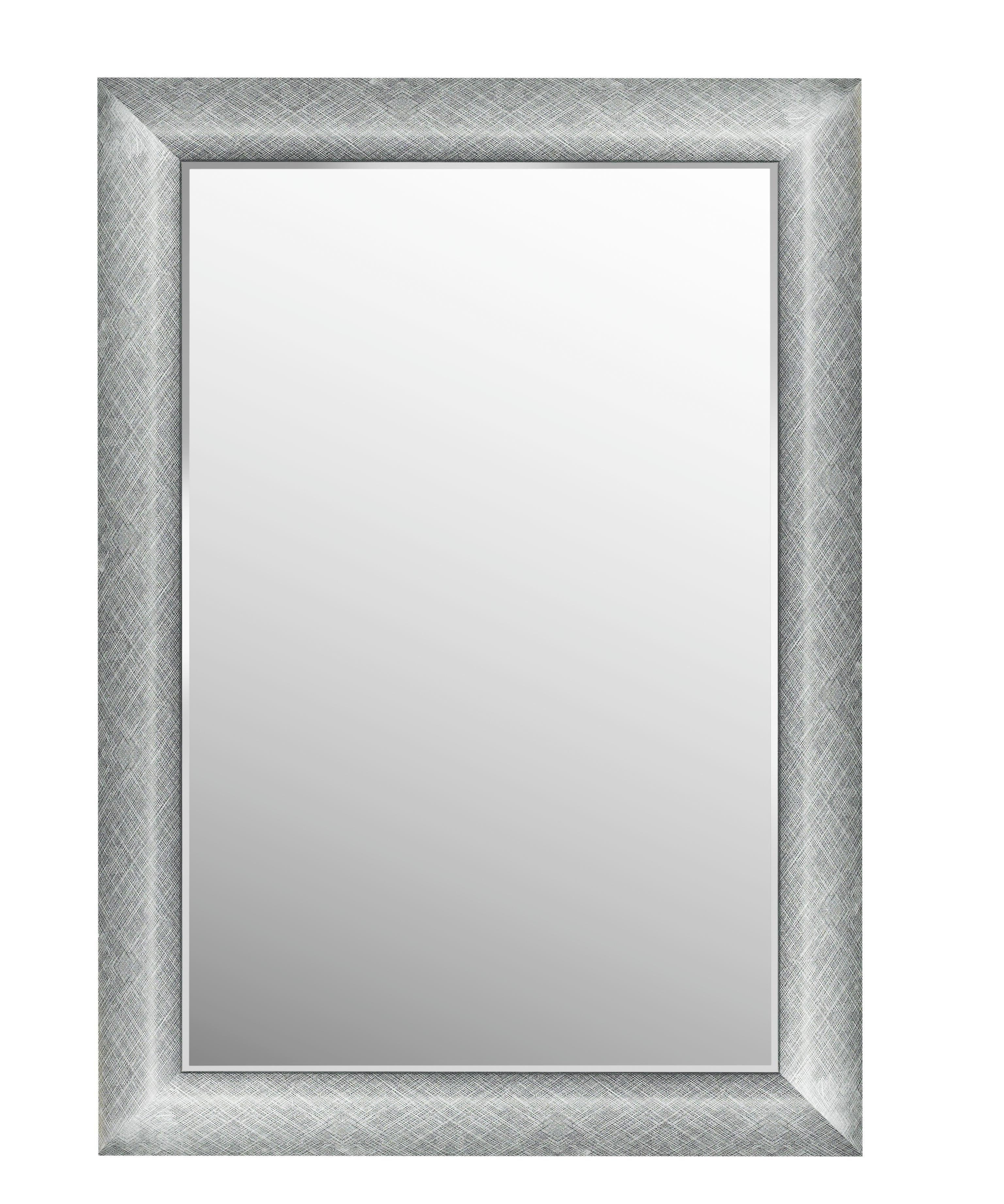 SPIEGEL - Silberfarben, LIFESTYLE, Glas/Kunststoff (63,8/88,8/2,5cm) - LANDSCAPE