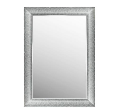 ZRCADLO, 63,8/88,8/2,5 cm,  - barvy stříbra, Lifestyle, umělá hmota/sklo (63,8/88,8/2,5cm) - Landscape