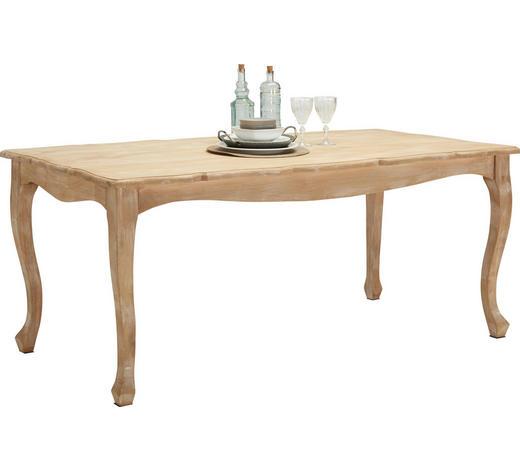 ESSTISCH Mangoholz massiv rechteckig Weiß  - Weiß, LIFESTYLE, Holz (178/90/76cm) - Ambia Home