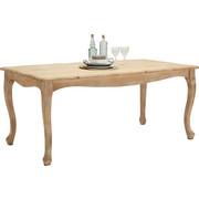ESSTISCH in massiv Mangoholz Weiß - Weiß, Trend, Holz (178/90/76cm) - Ambia Home