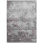 VINTAGE-TEPPICH  80/150 cm  Grau, Schwarz   - Schwarz/Grau, LIFESTYLE, Textil (80/150cm) - Novel
