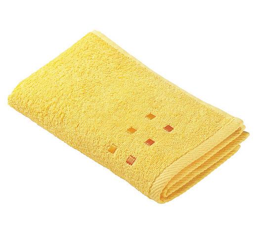 RUČNÍK PRO HOSTY, 30/50 cm, žlutá - žlutá, Konvenční, textil (30/50cm) - Esposa