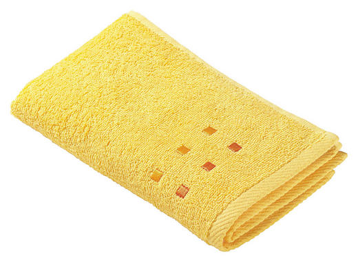 RUČNÍK PRO HOSTY - žlutá, Konvenční, textilie (30/50cm) - Esposa